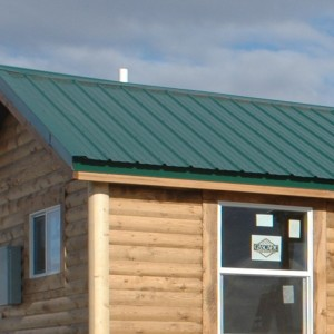 Cabin Steel Roof