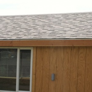 Cabin Shingle Roof